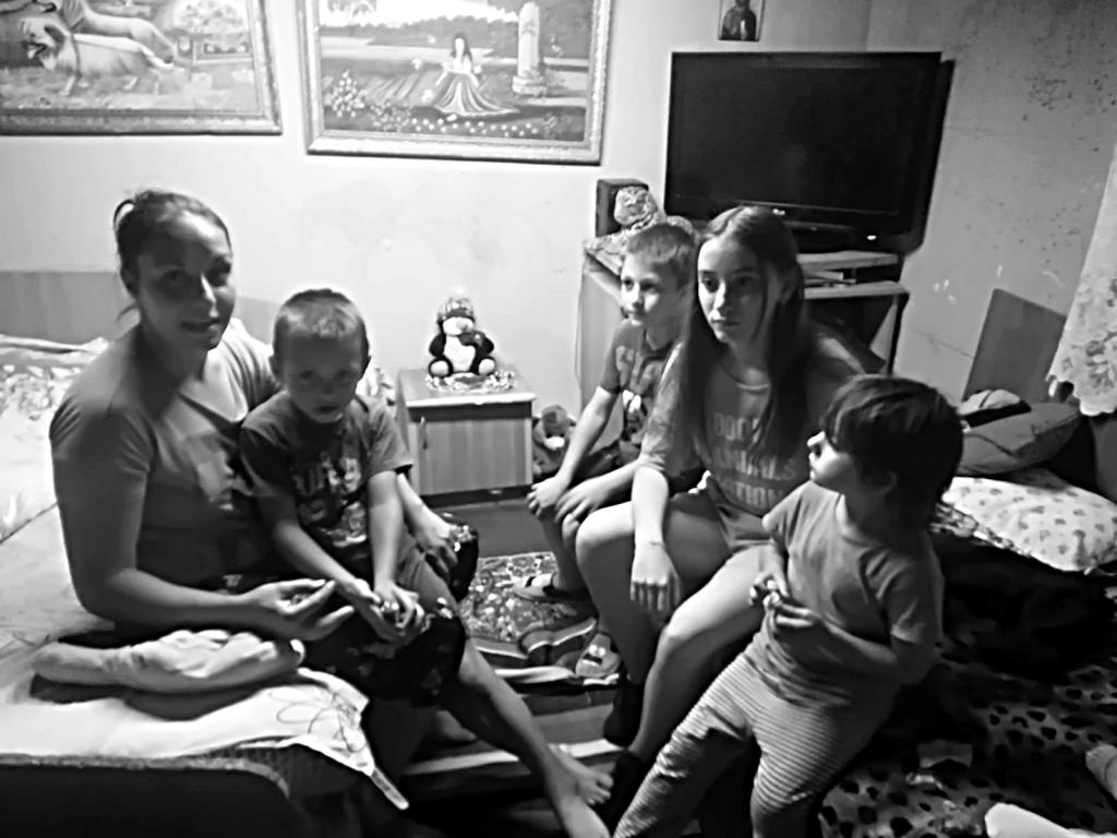 Daniela si copiii